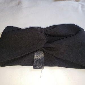 Zara black turban